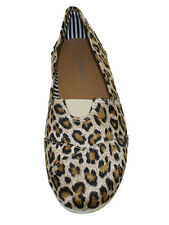 New Canvas *****SALE*****Ladies leopard print canvas espadrille Shoes Only $7.99