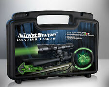 1 RED & 1 WHITE LED CLASS - 2 NightSnipe Predator, Coyote Hunting Light Kit