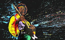 Jimmy Hendrix Giant Poster - A0 A1 A2 A3 A4 Sizes
