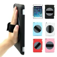 Handheld Rotary Protective Holder Case Cover Hand Strap for iPad Mini 1/2 Retina