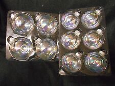 Glass Ball ornaments- Iridescent 80 mm or 65 mm