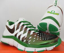 NIKE FREE TRAINER 5.0 OREGON DUCKS RIVALRY APPLE GREEN WHITE FOOTBALL 621936-301
