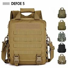 Sustainment Advance Army Durable Tactical Messenger Shoulder Tote Backpack Bag