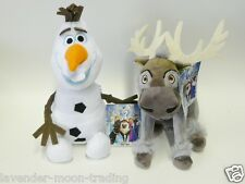 CUTE DISNEY FROZEN OLAF OR SVEN SOFT PLUSH TOYS - GREAT CHRISTMAS GIFT