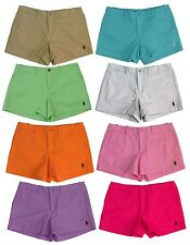 "Ralph Lauren Polo Sport Women's Shorts 3.5"" Pony Pink/White/Blue/Green/Tan/Purpl"