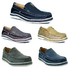 New Mens Boat Shoes Casual Moccasin Slip On Loafers Deck Brixton Dacio size