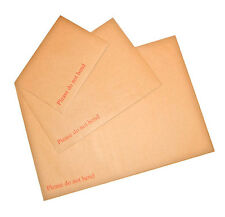 "C4 32.2cm x 22.7cm Hard Board Backed Envelopes Peel & Seal ""Please Do Not Bend"""