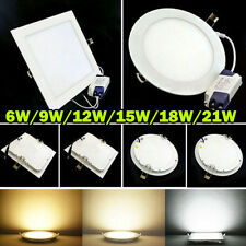 Dimmable Bombilla 6W 9W 12W 15W 18W 21W LED Ceiling Recessed Panel Down Light EG