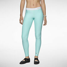 Nike Pro Core Compression Marathon Tight Leggings Pants NWT Tropical Ice Blue