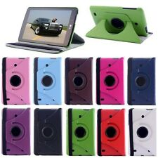 360 Rotating Stand PU Leather Case Cover For LG G Pad 7.0 V400 Tablet