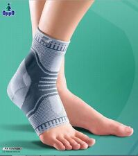 2 X OPPO 2900 X-shape Pattern Accutex Ankle Support With Silicon Pads-TWIN PACK