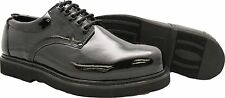 Mens Patent Leather Glossy Black Oxford Dress Uniform Shoe (Brand New)