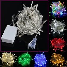 100 LED 10M 32ft 110V Fairy Light String Decoration Christmas Xmas Party Wedding