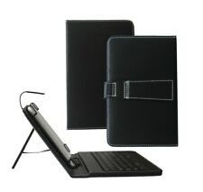 PU Leather Keyboard Case Cover For Tesco Hudl 2 Tablet