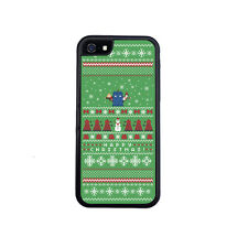 Christmas Doctor Who Tardis Sweater Rubber Case For iPhone 4 / 4s, 5 / 5s or 5c