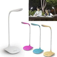 Dimmable USB Rechargeable Touch Sensor LED Reading Light Desk Table Night Lamp