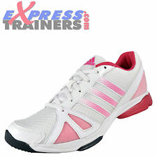 Adidas Womens Sumbrah 2 Jogging Fitness Workout Gym Trainers White *AUTHENTIC*