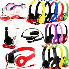 Top! Nice Adjustable Over-Ear Earphone Headset 3.5mm for iPod iPhone MP3/P4 SP15