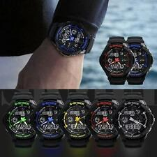 S-SHOCK Watch Sport Quartz Wrist  Men Mens Analog Digital #S Waterproof Military