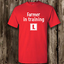 Learner Farmer t-shirt (Adults) farm farming farmer agriculture men's ladies top