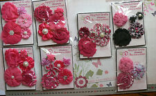 PRIMA Mixed Assortment of Flowers Roses & Butterflies - 13 Types - MultiList