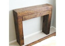 Chunky Wood Bedside Bed End With Drawer