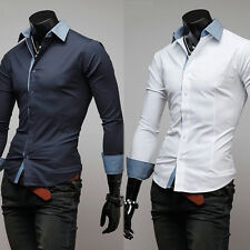 New Mens clothing Casual Shirts Quality Luxury fashion Dress shopping online top