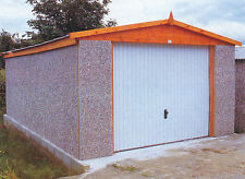 """CONCRETE APEX GARAGES PRICED FOR FITTING IN LONDON 10FT5"""" WIDTH"""