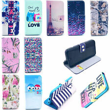 Folding IC Wallet Pocket Pouch Flip Leather Phone Case Cover For Various Mobile