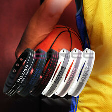 New Power Titanium Sports Wristband Bracelet Balance U Pick Free P&P