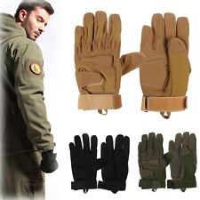 New Outdoor Airsoft Military Tactical Knuckle Hunting Cycling Motorcycle Gloves