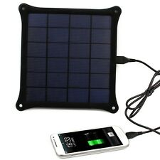 New 5V 4.2W Solar Panel Power Bank USB Backup Battery Charger for Cell Phone GPS