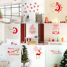 DIY Christmas Decoration Vinyl Snowflake Wall Stickers Window Decals XMAS Decor