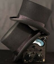 Steampunk-Victorian-Edwardian-Cosplay-Ripper Street-100% WOOLFELT BLACK TOP HAT
