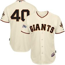 Madison Bumgarner SF Giants 2014 Authentic World Series Cool Base Home Jersey