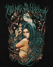 Bring Me The Horizon metalcore DEATHCORE BAND Girl in forest T-shirt Man Sz M,L