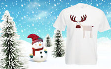 Christmas Cheap T Shirt Reindeer shirt Top Tee Xmas Costume Festive Mens Outfit