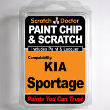 KIA SPORTAGE TOUCH UP PAINT Stone Chip Scratch Car Repair Kit 2012-2014