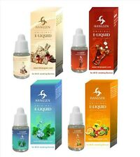 Five Hangsen e-Liquid 10ml Refills For Shisha Pen Flavours Juice Cig 5 x Liquids