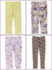 NWT NWOT gymboree COWGIRLS AT HEART leggings HORSE pony FLORAL BOTTOMS pants~PIC