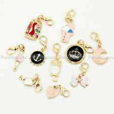 1PC EXAGE Fresh Dangle Clip Charms For Floating Lockets Watch Xmas Gift Chain