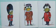Postcards of Dressed Frogs by ACE.  Choice of 3 different costumes