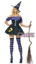 NEW Halloween Blue & Black Costume Fancy Party Dress SIZE 6 8 10 12 14 16