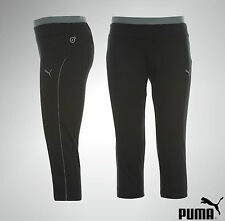 Womens Ladies Puma 3/4 Running Pants Capri Leggings Size 8 10 12 14 16