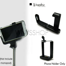 Selfie Monopod Extendable Handheld Holder Clip Stand for iPhone Samsung Android