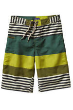 New Patagonia Boy's Wavefarer Shorts, Green