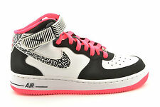 a14 Nike scarpe shoes donna junior sneakers alte AIR FORCE 1 MID (GS) col. 106
