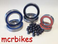 MTB QUALITY  6804 / 61804 2RS BEARINGS CHROME / STAINLESS / CERAMIC