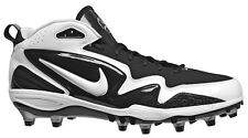 New NIKE Zoom Merciless TD Mens Football Cleats - Black / White