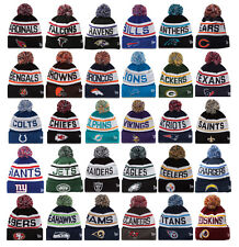 NEW ERA 2014 NFL ALL TEAMS  Beanie Pom Fashion Football Knit Cuffed Biggest Fan